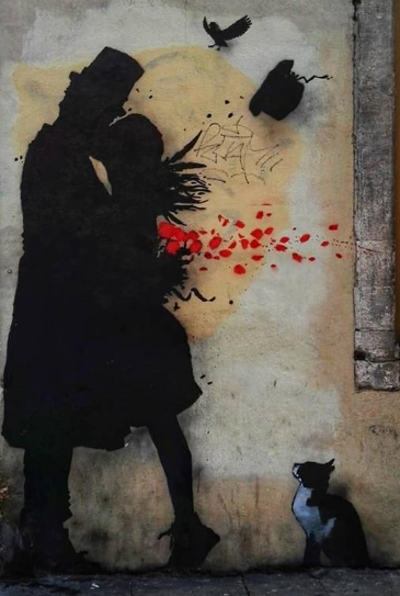 00 prompt street art in padova italy - streetart by kenny random