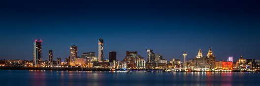 liverpool skyline pixabay