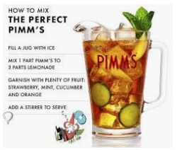 how to mix a perfect pimms lunasonline