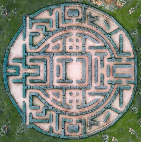 Maze Garden by Victor Garcia